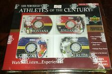 """MINT-IN-SEALED-BOX!  1999 UD """"ATHLETES Of The CENTURY"""", POWERDECK JORDAN, RUTH"""