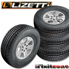 4 Lizetti LZ-HST P265/65R17 110T Quality All Season Truck Tires 265/65/17 New