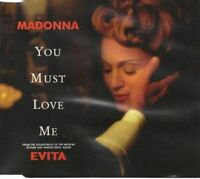 MADONNA you must love me (CD, single) lounge, easy listening, musical evita 1996