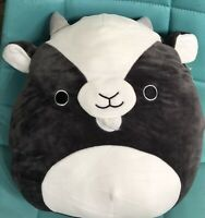 "NWT Squishmallows Kellytoy Summer 12"" GREGORY the Goat Plush"