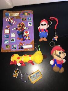 Super Mario World 64 Plush Keychain Galson Set Nintendo RARE Figure Japan Toy