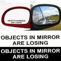 Decal Funny Words Reflective Truck Rear View Mirror Car Sticker Window