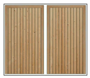 Wooden Garage Doors Made With Mortice And Tenons Made to Measure service