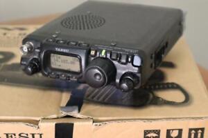 Yaesu FT-817ND Transceiver for Ham Amateur Radio