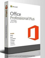 MS Microsoft Office Professional 2016 Plus ✔ EXCEL ✔ BÜRO ✔ Schüler ✔ Studenten