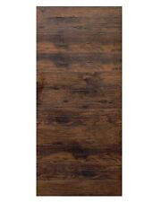 "36""x 80"" Modern Stained Horizontal Pattern Wooden Sliding Barn Interior Door"