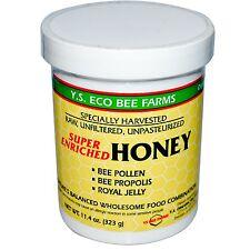 Royal Jelly, Propolis & Bee Pollen In Enriched Honey - Y.S Eco Organic Bee Farm
