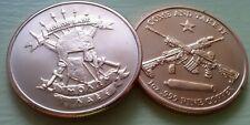 Molon Labe Come and Take It one ounce copper coin
