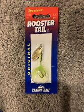 Worden's     Original   Rooster Tail  RT 206      Chartreuse   1/16