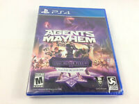 Playstation 4 (PS4) Agents of Mayhem Day One Edition w/ Extra Skins, NEW/ SEALED