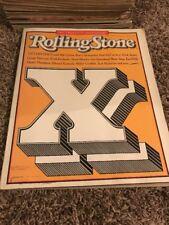 Rolling Stone magazine Number #512 November 5 20Th Anniversary Bob Dylan - te