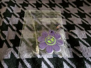 New Scotty Cameron Flower Power Circle T Key Fob Lime Purple Gallery Release