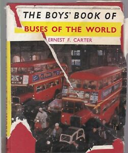 THE BOYS BOOK OF BUSES OF THE WORLD Burke Publishing Co. Ltd 1961
