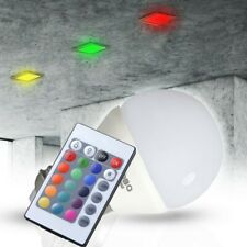 Mini RGB LED Leuchtmittel E27 Licht Fernbedienung 3,5 Watt Lampe Dimmer Ø 45mm