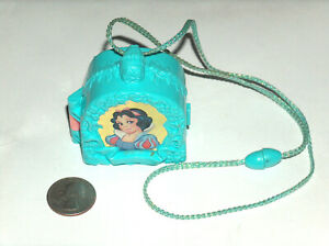 Disney Snow White 7 Dwarfs Polly Pocket Once Upon A Time Locket Necklace Only