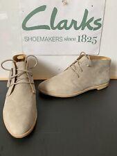 Clarks Originals Leather Boots Size UK 7 EU 41 NEW