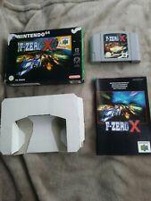 F-Zero X (Nintendo 64, N64, 1998) PAL version