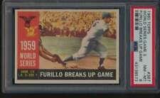 1960 Topps #387 World Series Game 3 PSA 8  NMMT 52968