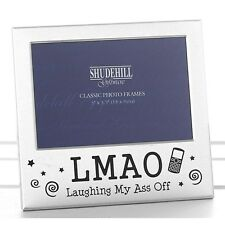 """LMAO Laughing My Ass Off 5"""" x 3.5"""" Photo picture photograph Frame Freestanding"""