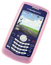 PINK SILICONE CASE SKIN COVER for Blackberry Pearl 8100 8120 8130