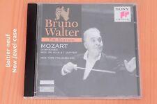 Mozart - Symphonies n° 39, 40 & 41 - Bruno Walter - Boitier neuf - CD Sony