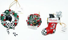 Christmas Ornaments NASCAR Dale Earnhardt Sr #3 Holiday  Includes COA