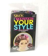 Hair Bonnet Sleek MAINTAIN YOUR STYLE Floral Multi-Color