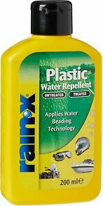 Rain-X Water Repellent for Plastic Surfaces, Applies Beading Technology, 200 ml