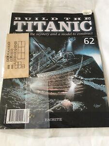 1/250 Hachette Build The Titanic Model Ship Issue 62 Inc Part Pictured.