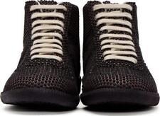 Maison Martin Margiela Black Rubber Dot High Top Sneaker Size 7 US, EURO 40