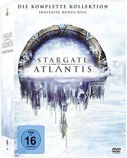 STARGATE ATLANTIS: DIE KOMPLETTE KOLLEKTION (26 DVDs) NEU+OVP