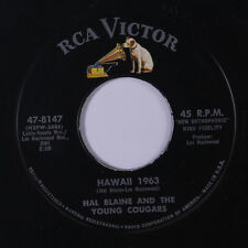 HAL BLAINE: Hawaii 1963 / East Side Story 45 Oldies