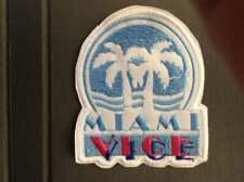 Patch Miami Vice TV Series Florida Crime Drama 1980s Television