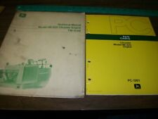 John Deere Model Hb-225 Chrysler Engine Tech. Manual and Parts Book (Lot of 2)