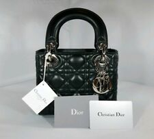 2fbd737c0e4  3100 Christian Dior Mini Lady Dior bag w  chain  BRAND NEW WITH TAGS