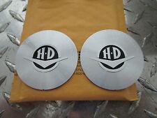 "Harley Davidson FLHR Road King Classic V-Logo 2.5"" Medallions UNIVERSAL STICK-ON"