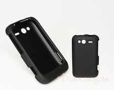 Snap-on Case Skin for HTC Wildfire S  Black Phone Case