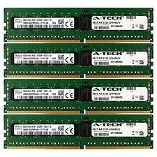 PC4-17000 Hynix 32GB Kit 4x 8GB Dell PowerEdge R730xd R730 R630 T630 Memory RAM