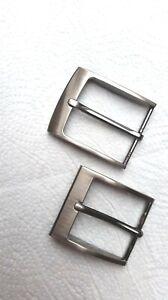 Ledergürtel Gürtel schnalle,2 einfache,schließen,für Gürtel bis 4 cm. breit Neu