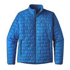 PATAGONIA NANO PUFF JACKET BIG SUR BLUE MENS SIZE MEDIUM NEW $200