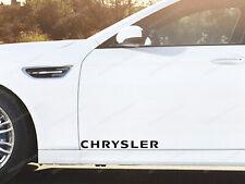 2 x Chrysler Stickers for Doors Crossfire 300C Voyager Neon PT Cruiser
