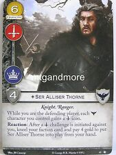 A Game of Thrones 2.0 LCG - 1x Ser Alliser Thorne #045 - The King's Peace - Seco