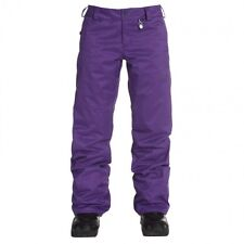 Volcom Women Boom Snowboard Pant (XS) Violet