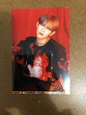 "New ATEEZ Yeosang Unofficial 4""x6"" Red Version Concept Photo Treasure Ep. Fin"