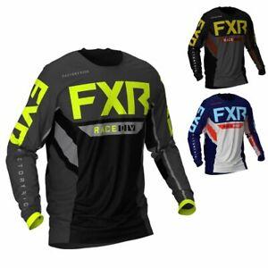 FXR Racing F21 Podium Off-Road MX Mens Motocross Gear Jersey