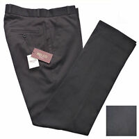 Relco Mens Black Sta Press Trousers NEW All Mod Skin Vtg Ska Retro Stay Prest