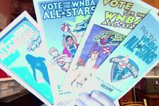 Wnba 4 Different All Star Ballots 1999,2000,2001, 2002 New Condition