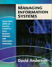 Management Information Systems Using Cases within an Industry Context to Solve …
