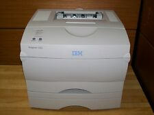 IBM Infoprint 1222 A4 Laser Printer with duplex and additional 500 sheet tray MS