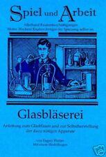 Glasblasen Heft - stellen Sie Ihr eigenes Glas her NEU!